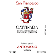 ANTONIOLO GATTINARA SAN FRANCESCO 2006