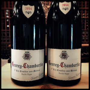 DOM. FOURRIER GEVR CHAMBERTIN COMBES AUX MOINES VV 2014 3 LIT
